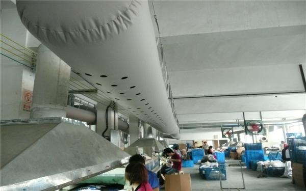 布風管 布袋風管 纖維織物風管